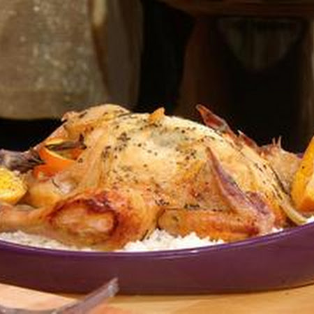 Paula Deen's Orange Rosemary Chicken | Elegant Foods & Desserts