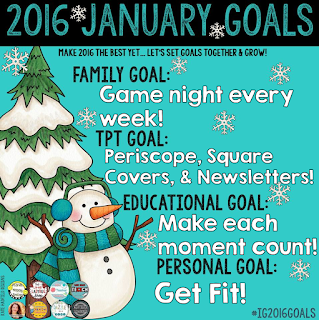 January Goals Planet Happy Smiles