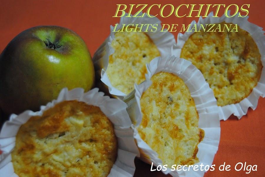 ¿Estás a dieta pero no quieres renunciar a la merienda? Bizcochitos 'light' de manzana