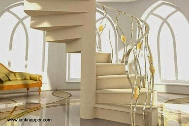 Dise o de escaleras en fotos para tu hogar escalera for Formas de escaleras de concreto