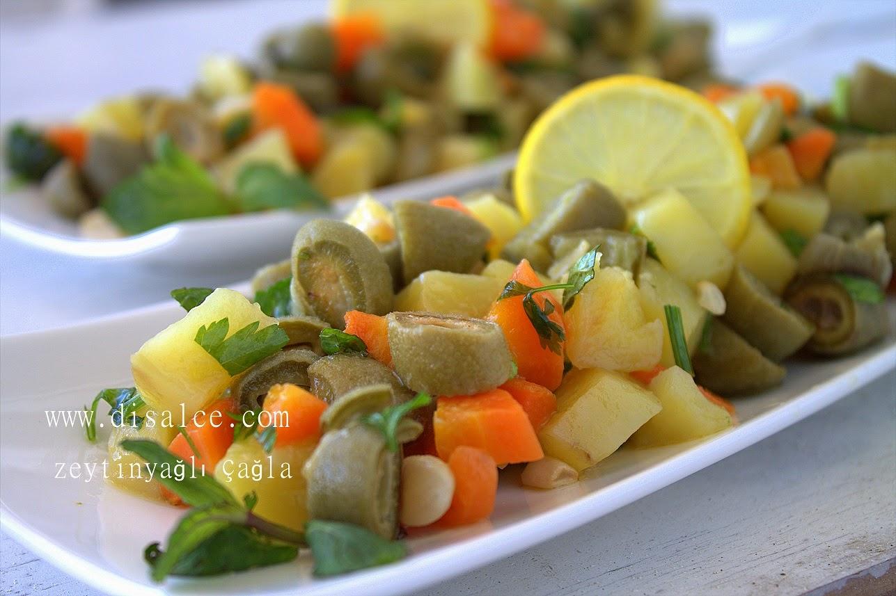 çağla salatası