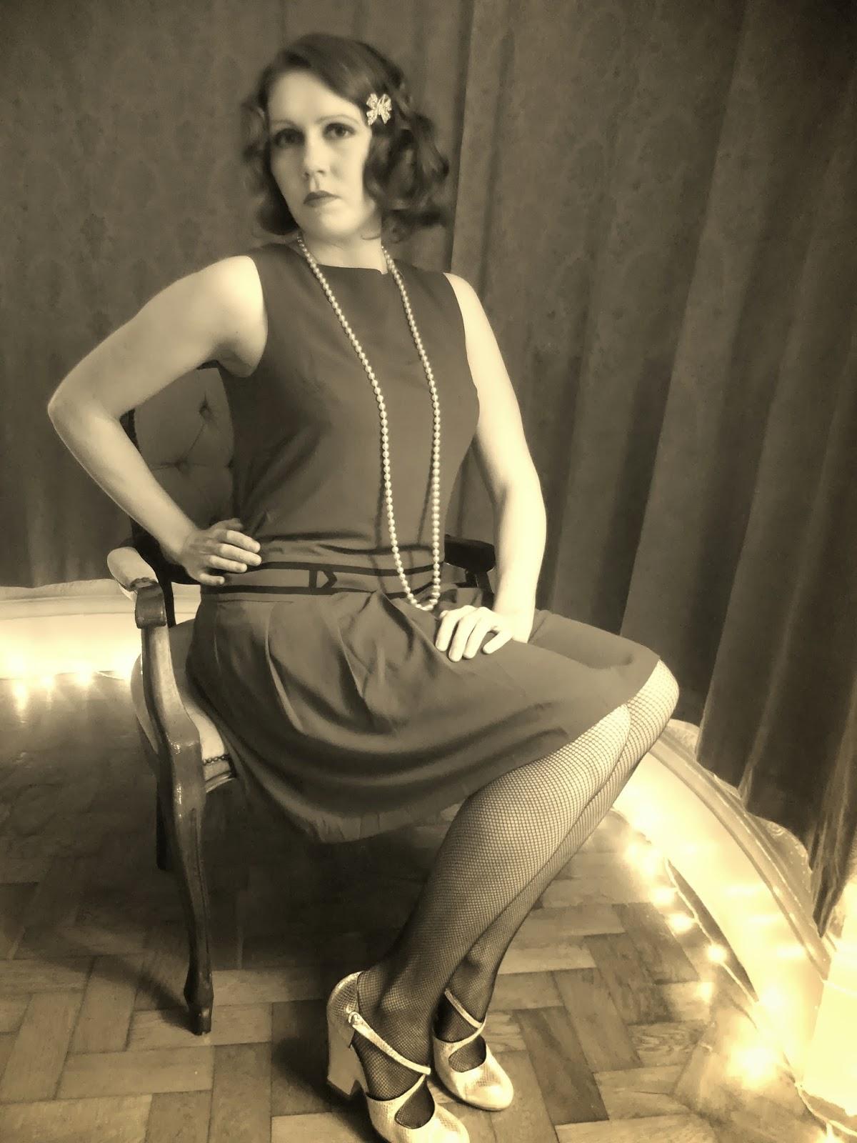 1920s Gatsby style dress