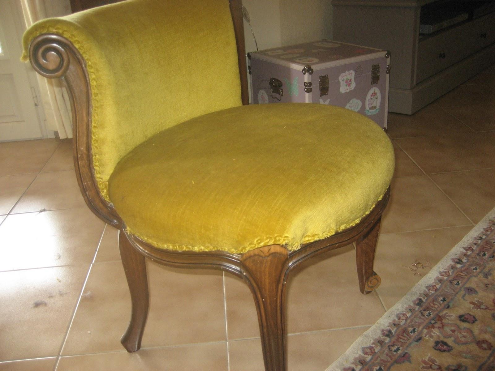 Le Boudoir de Sparkling Fairy: DIY : Le fauteuil boudoir