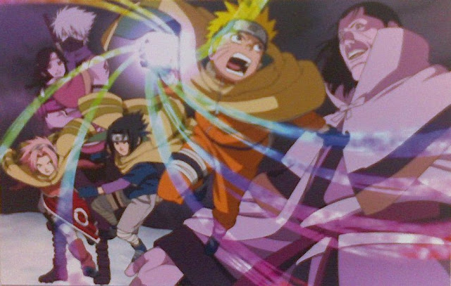Naruto Movie 1 Ninja Cash in Land of Snow