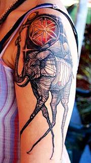 Melhores tatuagens de elefante no braço