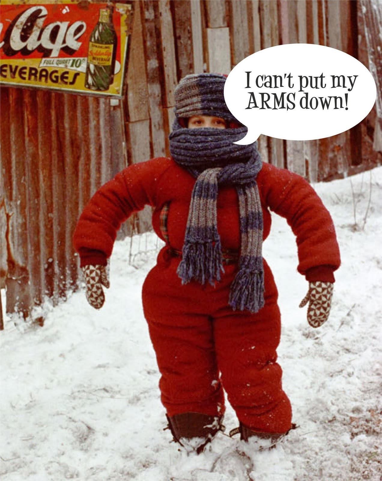 A Christmas Stor   A Christmas Story Snowsuit