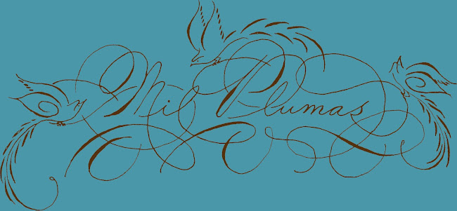 Mil Plumas Calligraphy