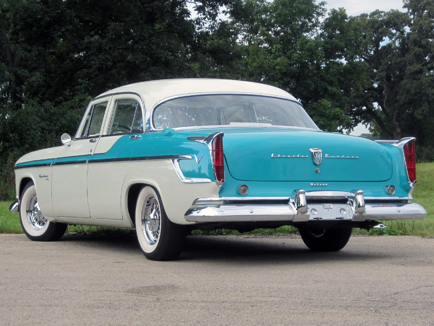 All American Classic Cars 1955 Chrysler Windsor Deluxe 4