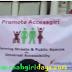 promoting Accessgiri aazadi ki udaan hand colour printing on t shirt @cp delhi 6th dec 2015
