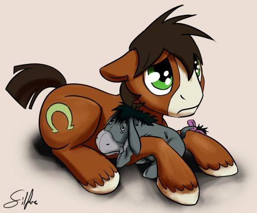 Morose Horse