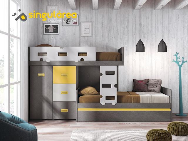 Dormitorio juvenil 605fm1011 dormitorios juveniles - Dormitorios juveniles para hombres ...