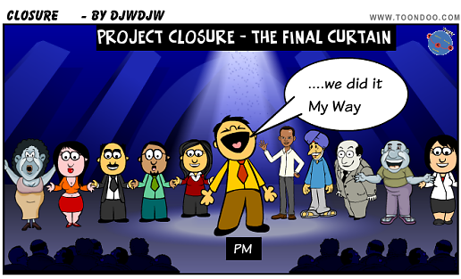Project Closure - the final curtain