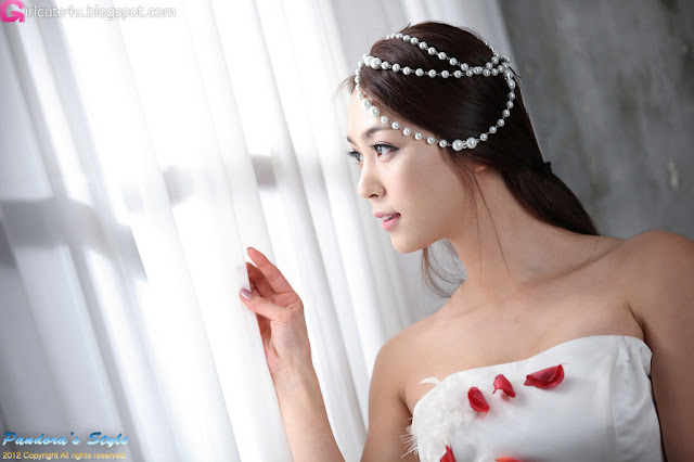 1 Ju Da Ha in Wedding Dress-very cute asian girl-girlcute4u.blogspot.com