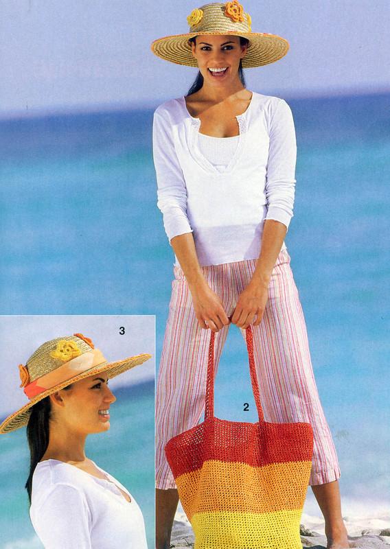 Örgü Bikini ve Çanta