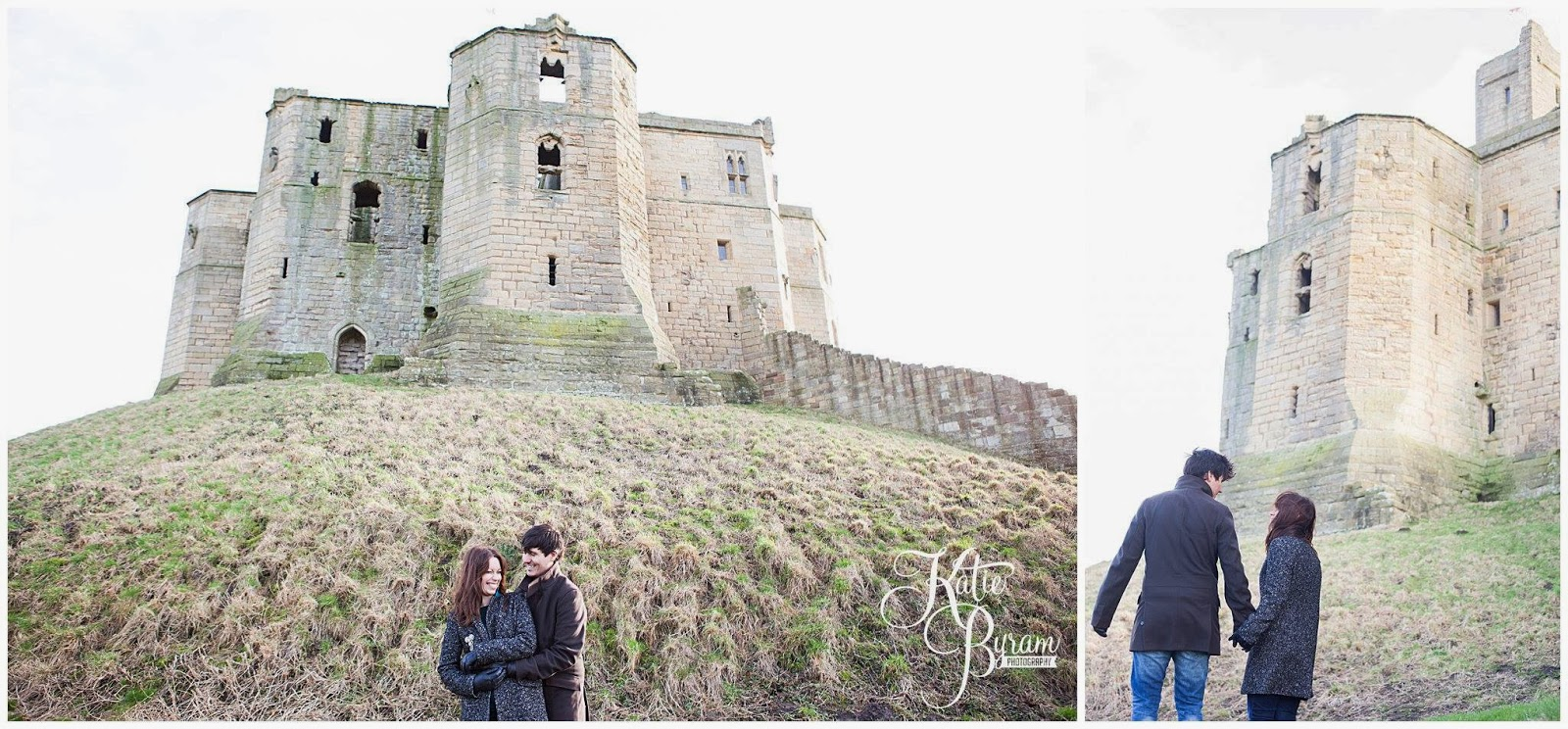 kinder egg engagement, kinder surprise, kinder surprise engagement, warkworth pre-wedding shoot, warkworth, northumberland wedding photographer, northumberland beach, warkworth beach, engagement photos northumberland, katie byram photography, warkworth engagement, warkworth castle, warkworth wedding,