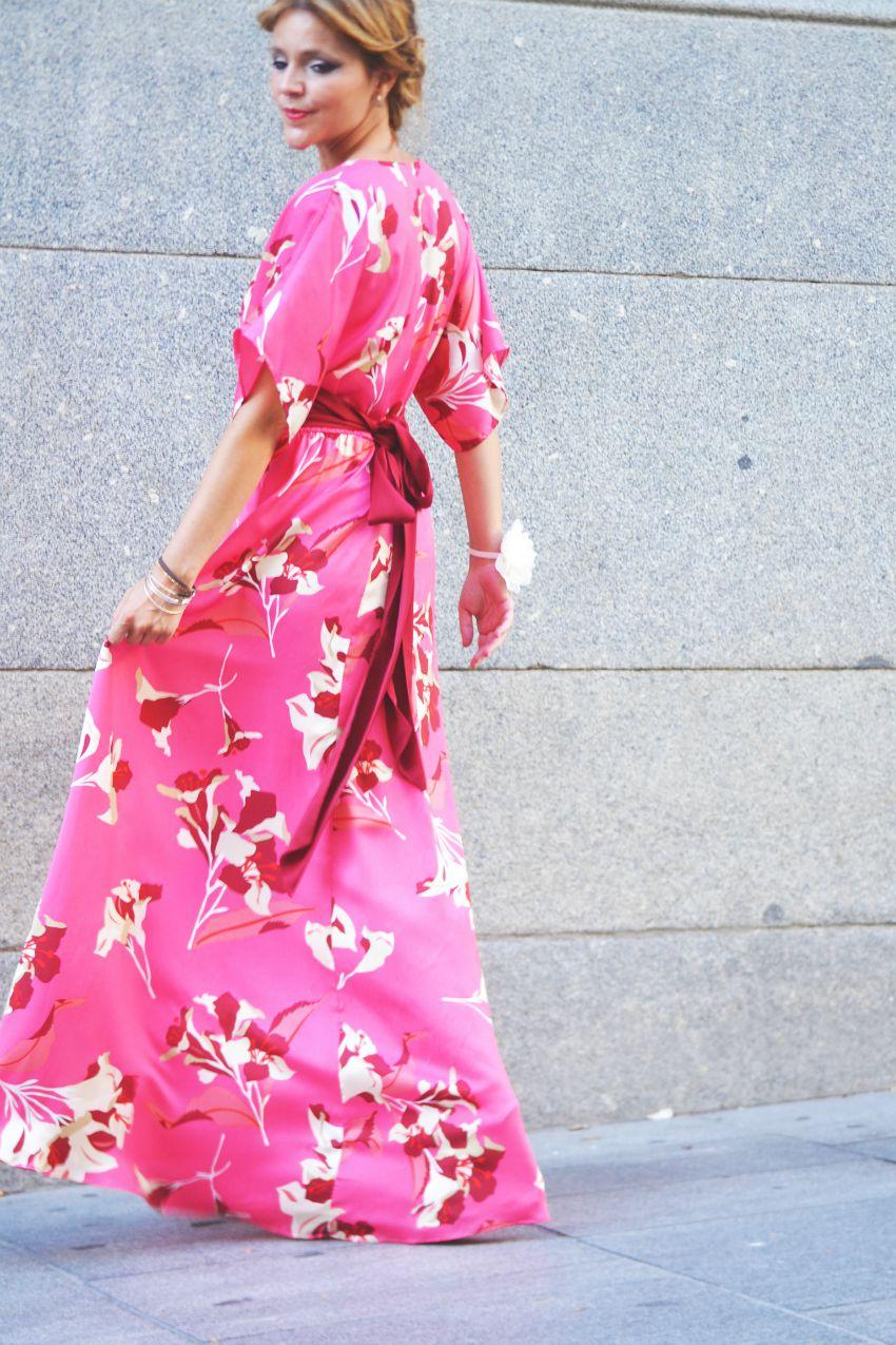 LOOK INVITADA BODA   VESTIDO LARGO   Blog de moda y belleza ...