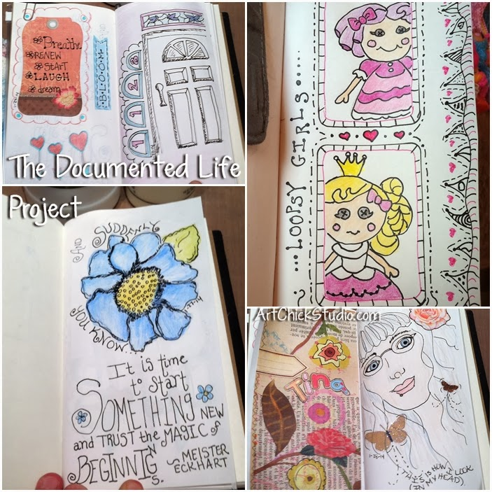 The Documented Life Art Journal Project