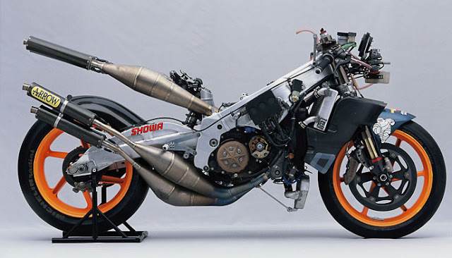 1990-1998 HONDA NSR500 Moto Gp 499 cc V-4 -200bhp-Motorcycle