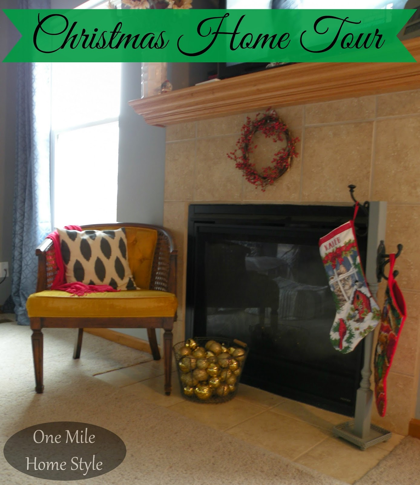 One Mile Home Style Christmas Home Tour