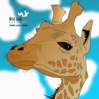 giraffe drawing