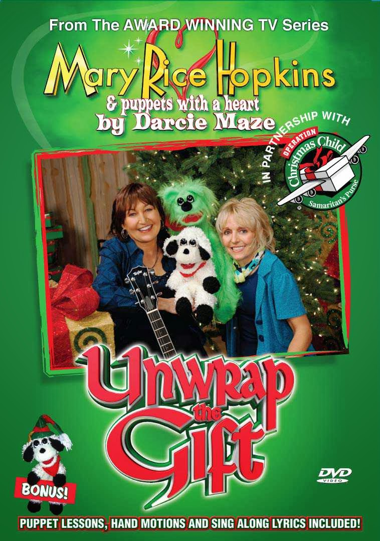 IDEAS UNLIMITED: UNWRAP THE GIFT - Christmas DVD