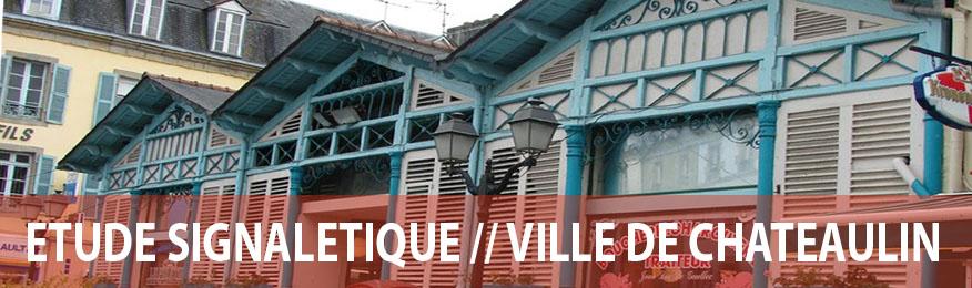 Etude signalétique ville de Chateaulin - Axone Environnement