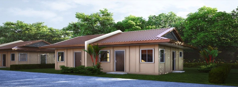 Model house tricia duplex greenwoods subdivision davao for Cost of building a duplex house