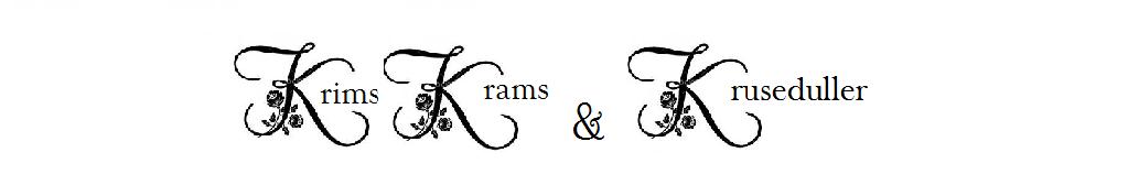 Krims Krams & Kruseduller