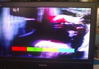 LCD Panasonic & Polytron Kerusakan gambar responnya sangat lambat (slow motion)