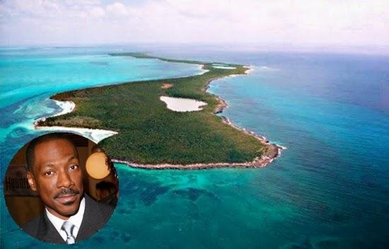 eddie murphy : selebriti yang memiliki pulau pribadi