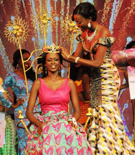 Miss Ghana World 2014 Guisseppina Baafi