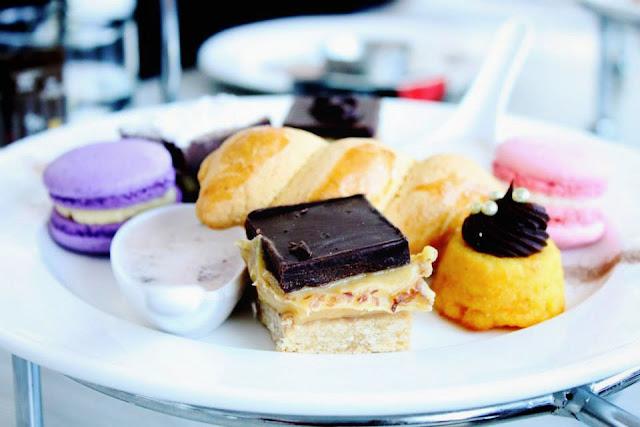 macarons, greek yoghurt, dessert, pastries, cakes
