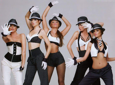 Girls aloud dance wallpapers
