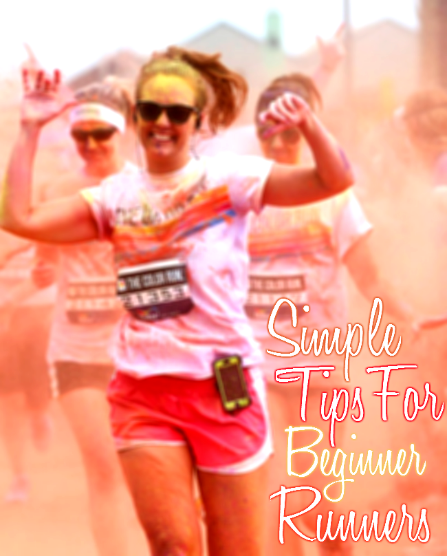 Simple tips for beginning runners.