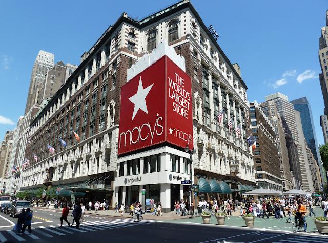 Loja de departamentos Macy's em Nova York