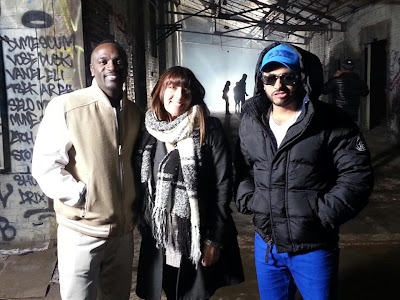 WATCH: Tamer Hosny FT Akon - Welcome to the Life ( Behind the scenes)