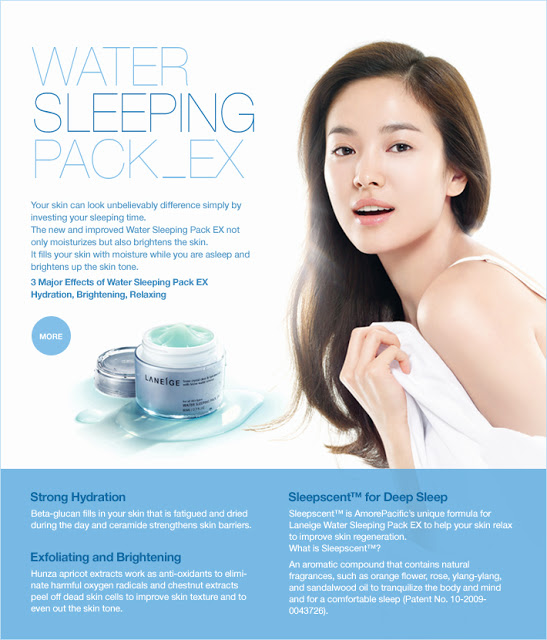 Laneige Sleeping Pack Ex Mask Ad