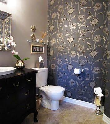 Reforma ba os y cocinas bilbao ba os en gris - Papel para azulejos de bano ...