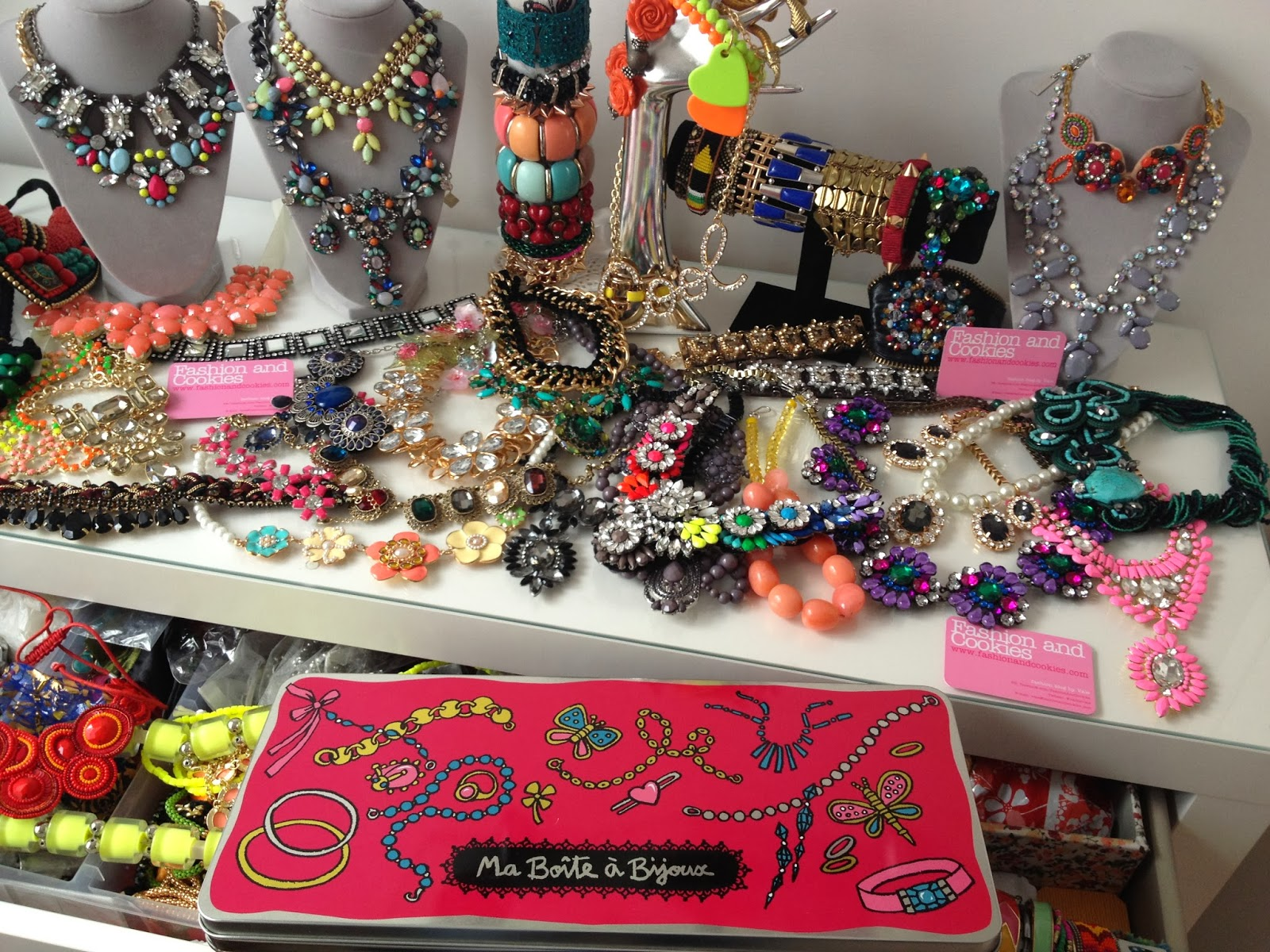 statement necklaces, dlp-paris boite a bijoux, Fashion and Cookies, fashion blogger