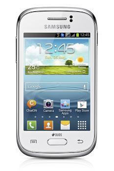 Smartphone jelle bean di samsung di fascia media Galaxy Young