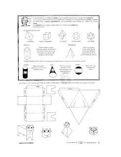 Cuerpos geometricos para niños