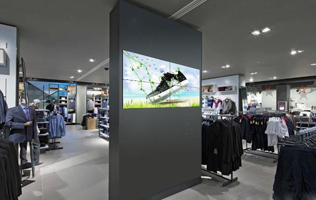 pantallas digitales en retail