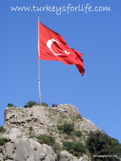 Turkish Flag in Fethiye