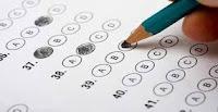 tes, menulis, pensil