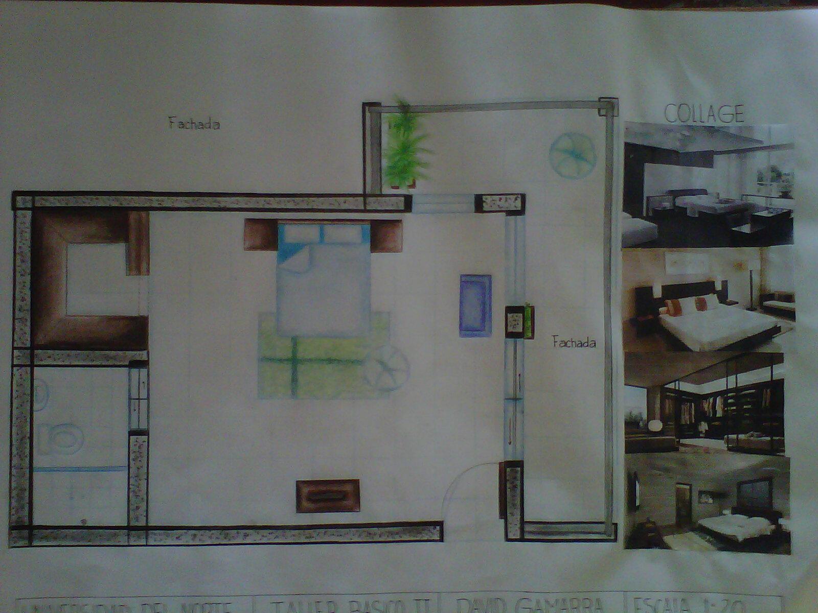 Taller b sico de arquitectura habitaci n principal - Habitacion principal ...
