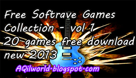 Free Softrave Games Collection - vol 1 20 games free download new 2013