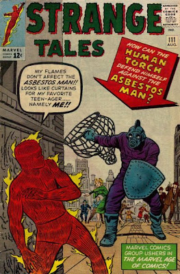 Strange Tales #111, Human Torch v Asbestos Man