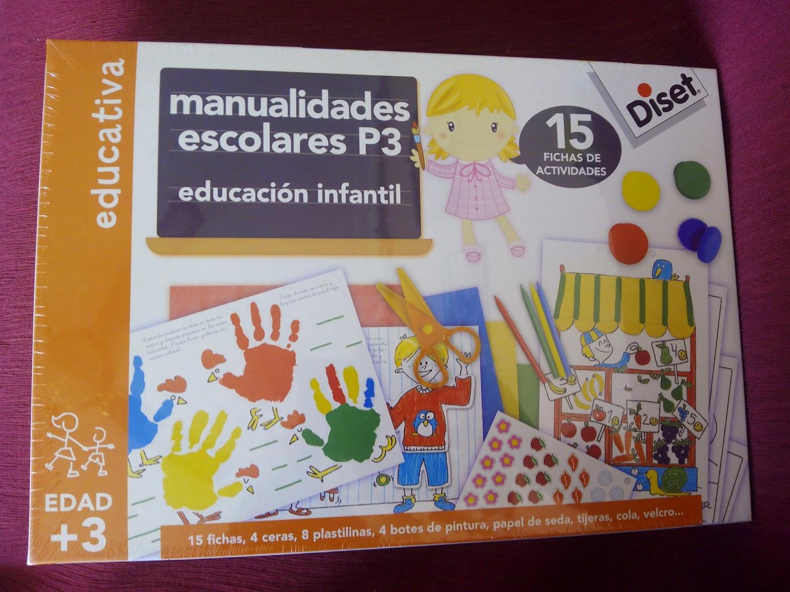 juego didactico marca Diset de manualidades escolares