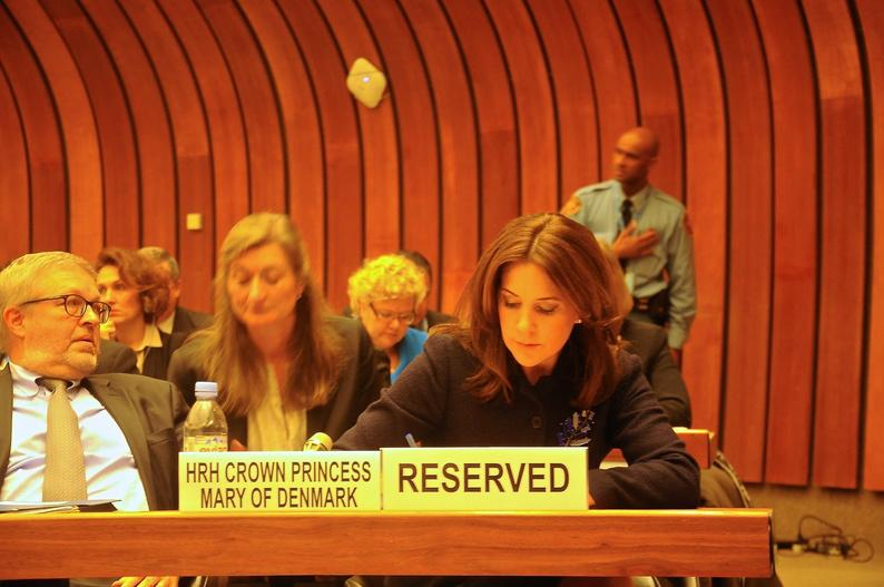 Crown Princess visits Geneva on the occasion of the UNECE / UN WOMEN conference