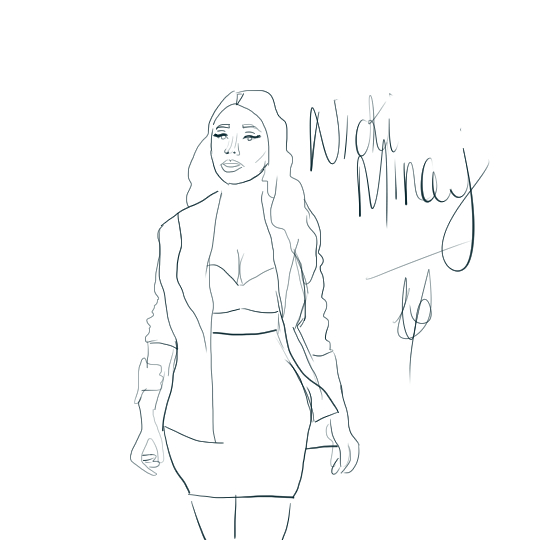 Art is the last form of magic minimal drawing on nicki minaj laurevolution voltagebd Image collections
